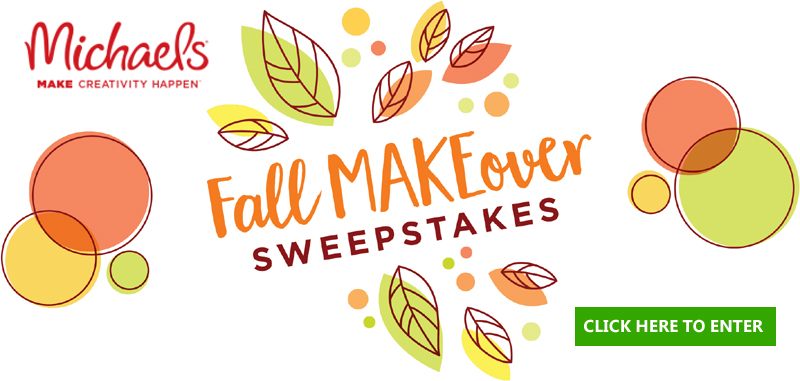Vote for your favorite way to decorate for fall and you could win a $1,000 Michaels gift card and $500 in Fall decor