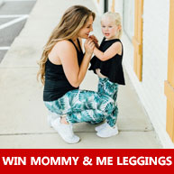 Enter for your chance to win a Zion's Den Apparel Mommy and me legging set