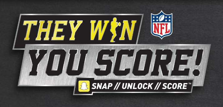 Enter your Frito-Lay and Pepsi codes to be assignedan NFL team. If your team wins their game this week – you could score NFL rewards and prizes!