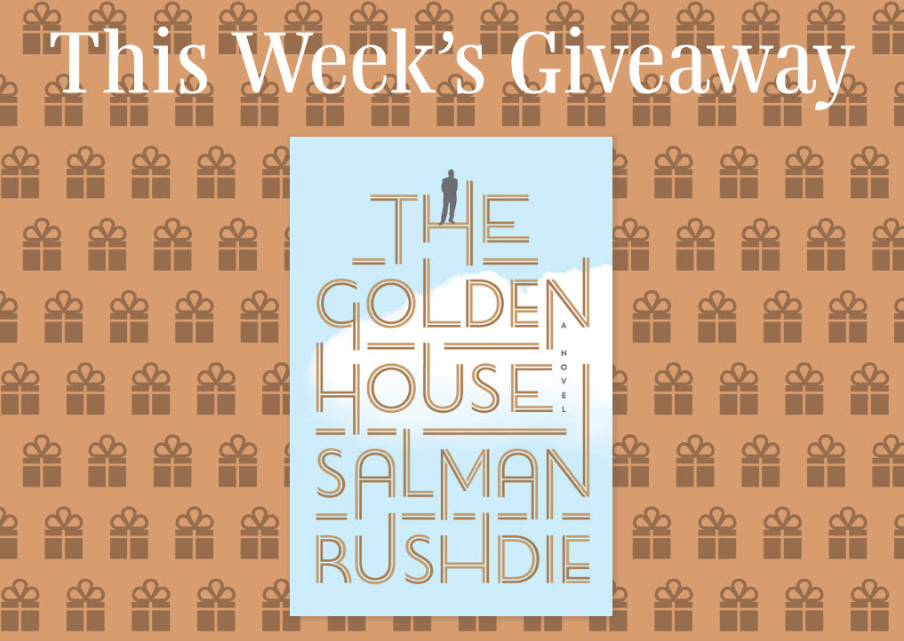 Read it Forward is giving away 100 copies ofThe Golden House by Salman Rushdie