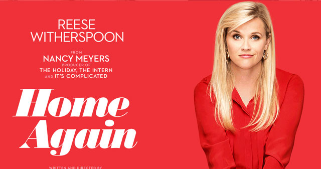Enter for your chance to win an LA getaway for two to attend the Home Again Movie Premiere starring Reese Witherspoon