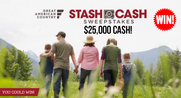 You could WIN $25,000 in cash from Great American Country