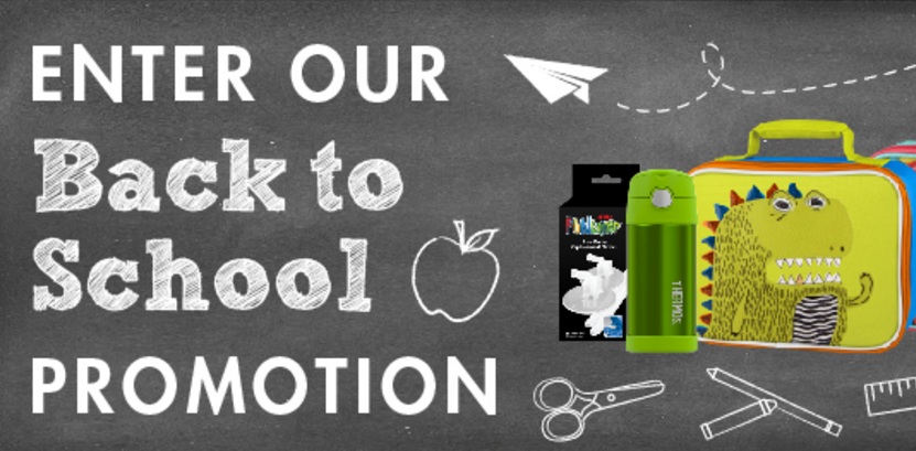 Enter the Thermos Brand Back To School Sweepstakes for your chance to win 1 of 6 Genuine Thermos Brand lunch kits