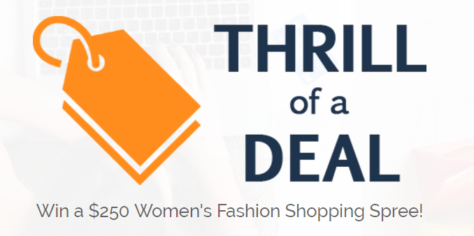 Enter for your chance to win a $250 Women's Fashion Shopping Spree to spend at your favorite women's fashion store!
