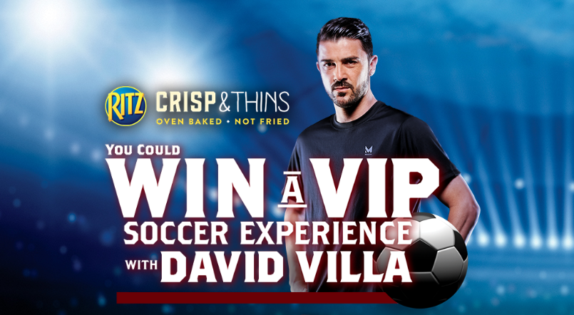 Enter for your chance to win a trip to New York to meet world-famous soccer player, David Villa, and watch him play!