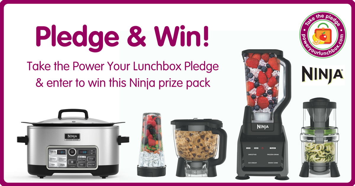 Enter to win a Ninja Cooking System with Auto-iQ that includes four appliances built into one: a slow cooker; a stove top for searing and sautéing; a steamer; and an oven for baking AND the Ninja Intelli-Sense Kitchen System with Auto-Spiralizer that features a smart and powerful base that transforms into four high-performance appliances.