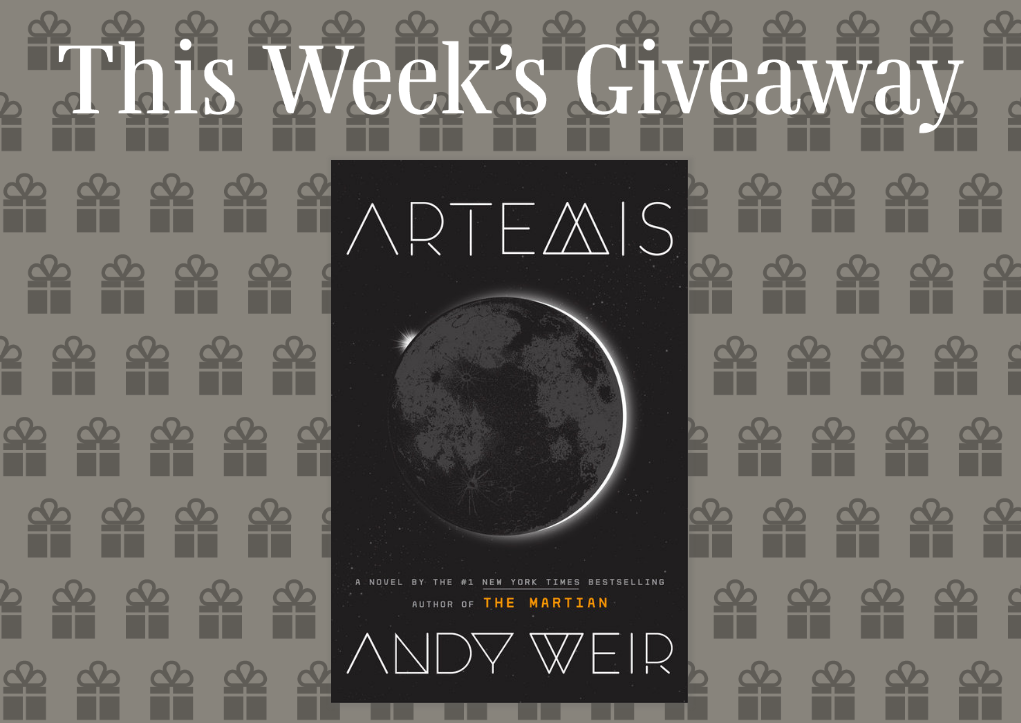 Read It Forward is giving away 200 copies of the book, Artemis by Andy Weir