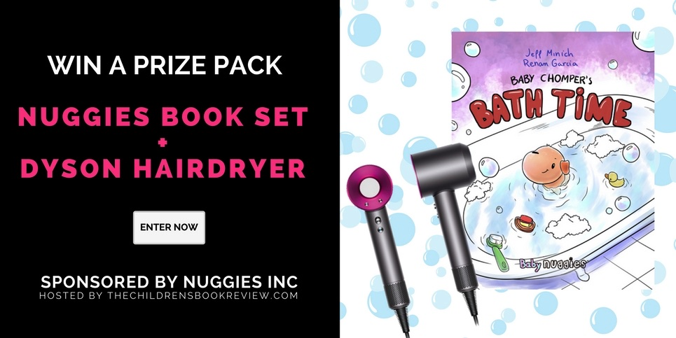Enter to win an autographed copy of Baby Chomper's Bath Time, By Jeff Minich - plus a Dyson Supersonic Hairdryer! Baby Chomper's Bath Time is a lovable tale about a little puppy who learns to have fun doing his least favorite thing - taking a bath!