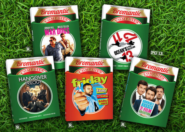 Enter theDelta Sky Magazine Bromantic Comedy Giveaway to win a 12-movie collection of movies