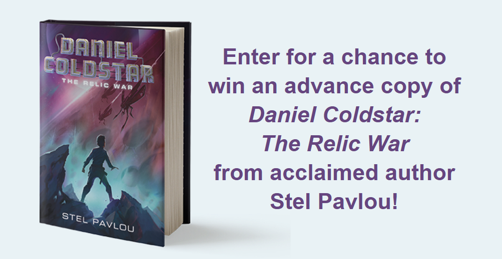 Enter for your chance to win 1 of 75 copies of Daniel Coldstar #1 The Relic War by Stel Pavlou; perfect for fans of Star Wars, this intergalactic adventure will take you to the far reaches of the galaxy!