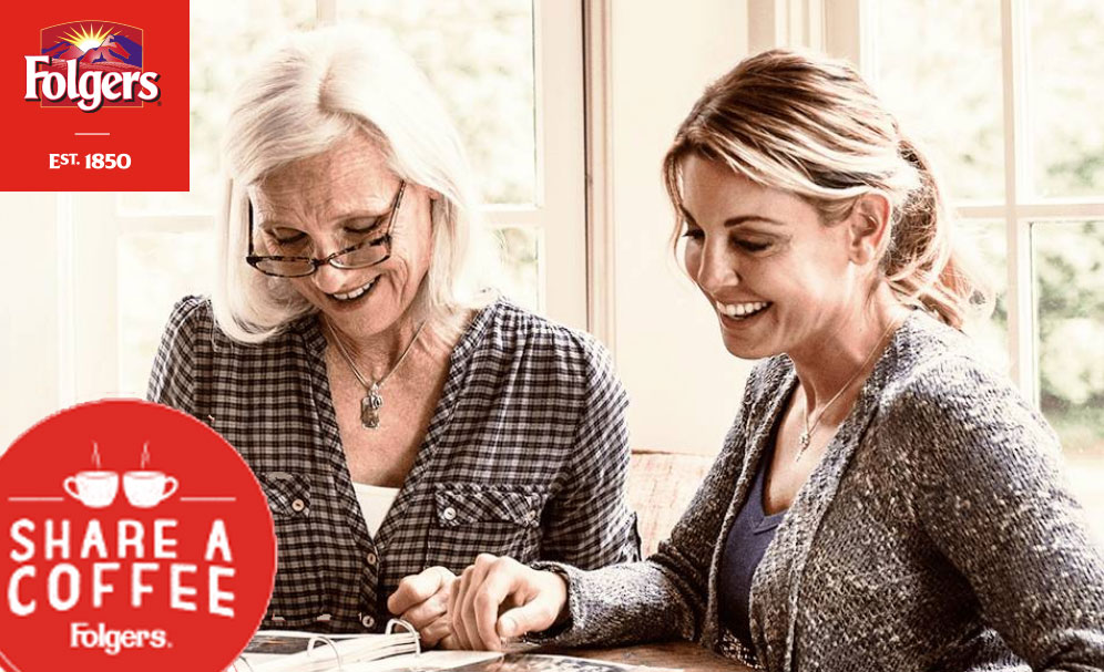 Folgers is reuniting loved ones over coffee in Chicago, Illinois. Share who you want to reconnect with and enter for a chance to win a real-life reunion or other Folgers prizes.