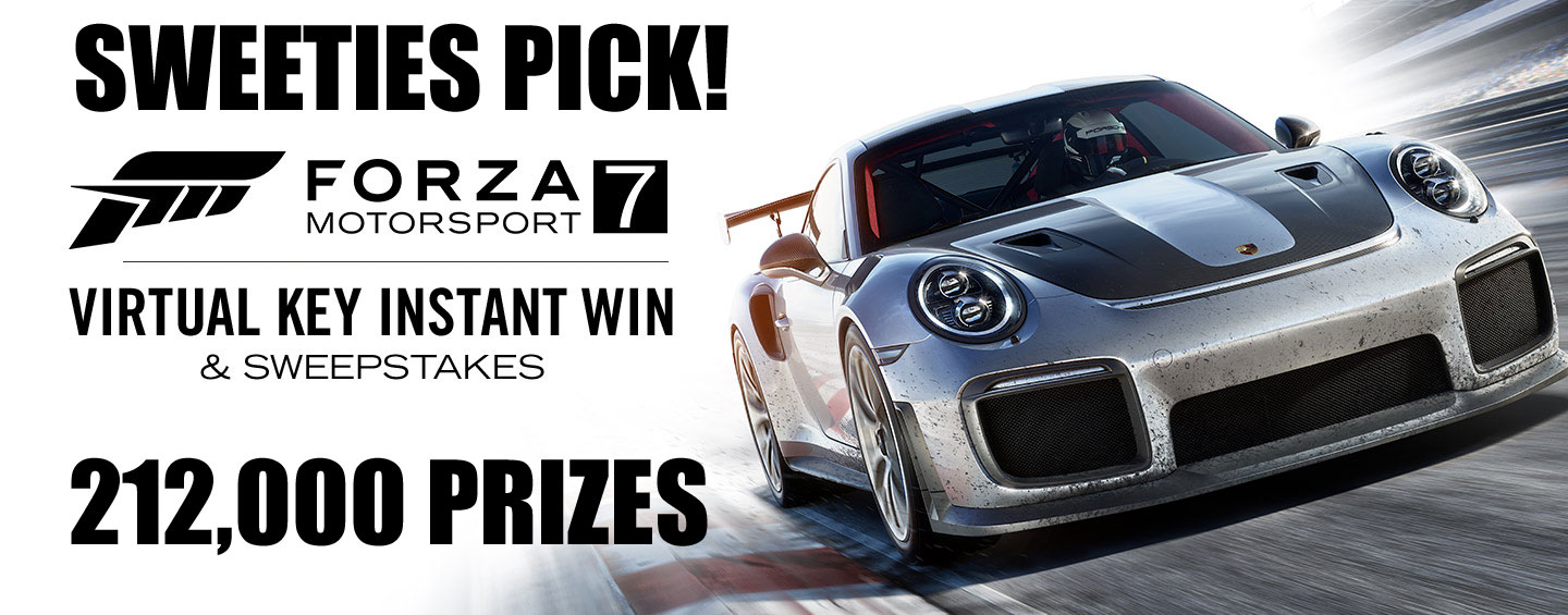 SWEETIES PICK! XBox Live is giving away over 212,000 Forza Motorsport 7 prizes!