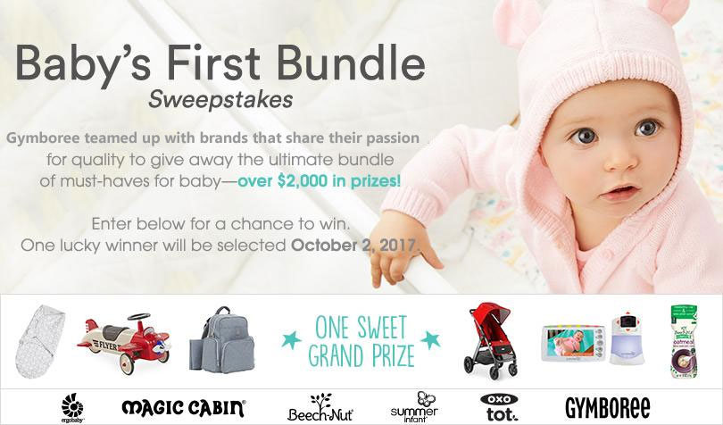 Gymboree teamed up with brands that share their passion for quality to giveaway the ultimate baby bundle worth over $2,000