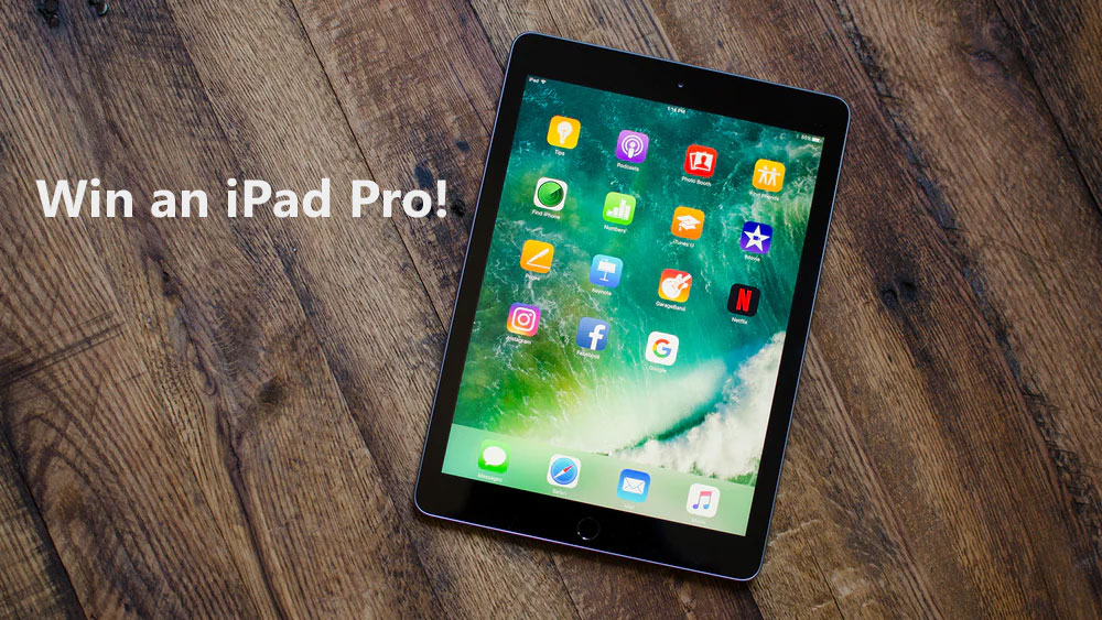 Enter to win a fully loaded iPad Pro with copies of Steven King's books