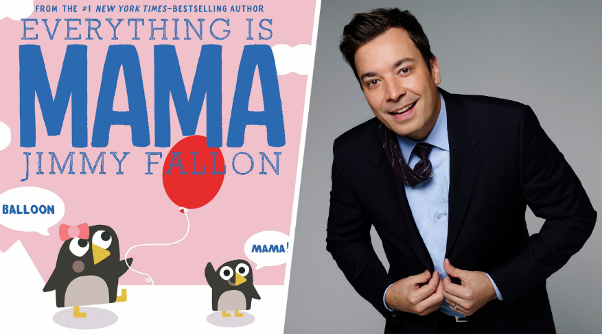 """Want to win a trip to New York City to hang out with the TODAY Parenting Team and Jimmy Fallon at the launch party for his new book, """"Everything Is Mama""""? Share your videos of your baby saying """"Mama,"""" (or mommy or mom or mmmmm… we're not picky) and you could win a trip to New York City in October for the book launch party for Everything is Mama."""