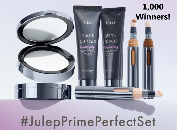 SWEETIES PICK! Low Entries! Julep Prime Perfect Challenge Giveaway (1,010 Winners)
