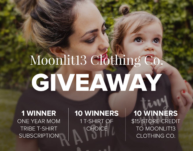 Enter the Jane.com Moonlit13 Clothing Co giveaway for your chance to win 1 of 11 prizes