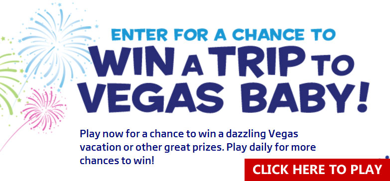 Plenti is giving away over 10,000 prizes and a trip to Las Vegas!