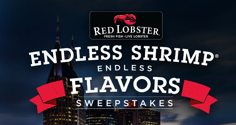 Food Network Red Lobster Endless Shrimp Flavors Sweepstakes 10/9 1PPD21+ | SweetiesSweeps.com
