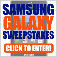 Win a Samsung Galaxy