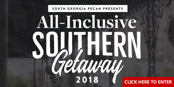 The Southern Georgia Pecan Co. is giving away a 3-night all inclusive Southern Getaway in Savannah, Georgia