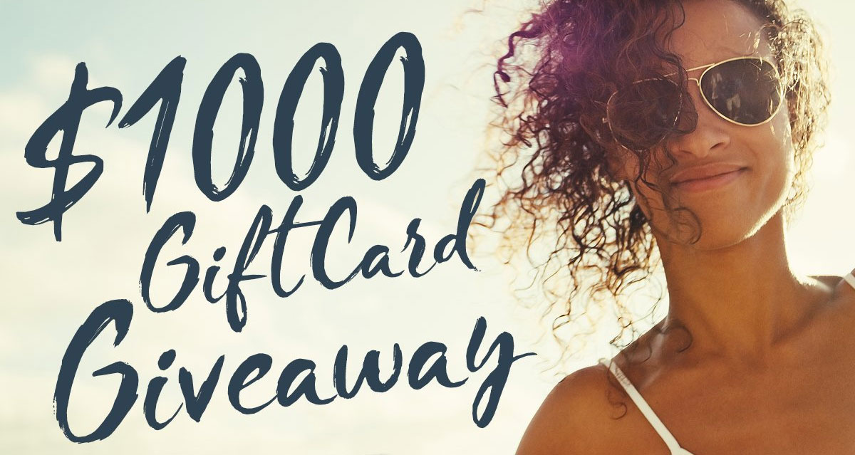 One lucky winner will win a $1,000worth of Spa & Wellness Gift Cards and five winners will each win a $100 gift card