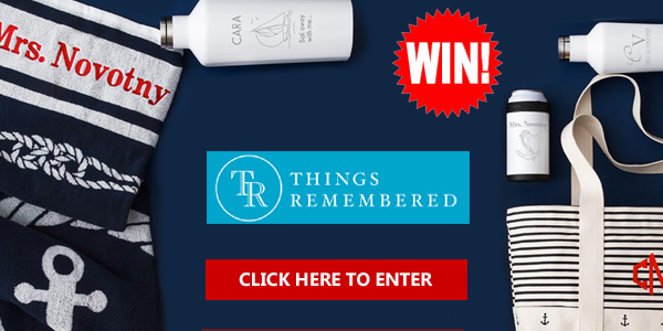Enter for a chance to win 1 of 3 Things Remembered Honeymoon Prize Package worth over $300 each