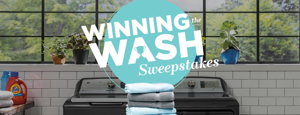 Daily winners will each win a$200 Visa Prepaid Card in the - 28 Winners - and one grand prize winners will win aWasher and Dryer Package worth over $2,700