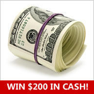Enter for your chance to win $200 PayPal cash OR a $200 e-gift card of choice