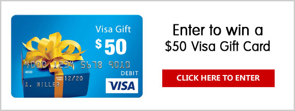 Enter for your chance to win a $50 Visa Gift Card from About a Mom