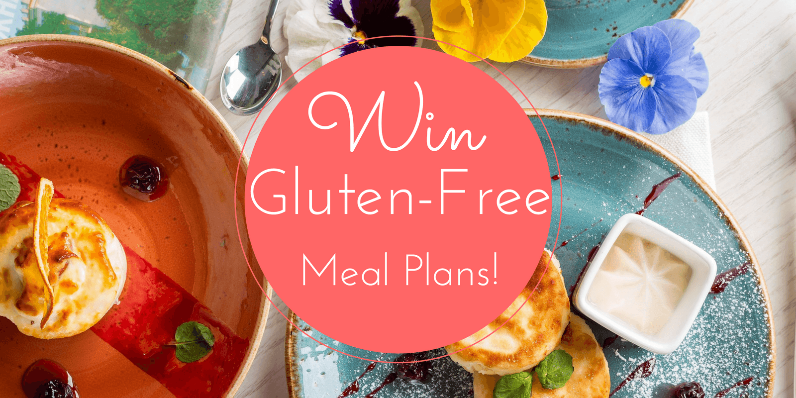 Enter for your chance to win12 Months of Weekly online Gluten-Free Meal Plans from eMeals