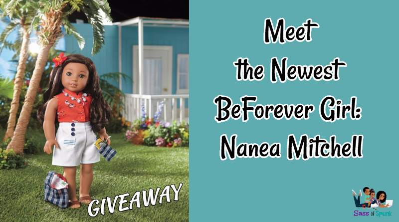 Enter to win the newest BeForever American Girl and her book: Nanea Mitchell. A Hawaiian girl in the 1940s during Pearl Harbor and World War II
