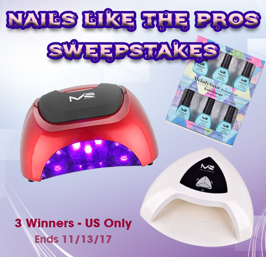 3 WINNERS! MelodySusie Nails like the Pros Sweepstakes