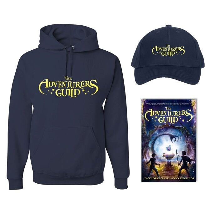Enter for your chance to win aHardcover Copy of The Adventurers Guild, a book for tweens, The Adventurers Guild bookmark,The Adventurers Guildbaseball cap, andAdventurers Guild hoodie.