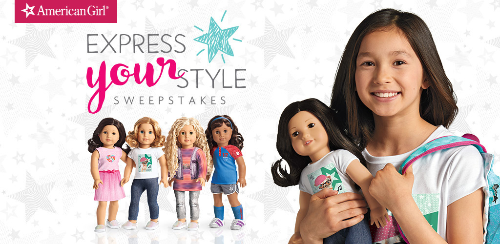 50 WINNERS! Enter daily for your chance to win 1 of fifty$50 American Girl Gift Cards