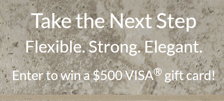 Enter to win 1 of 3 $500 VISA gift cards from Armstrong Flooring