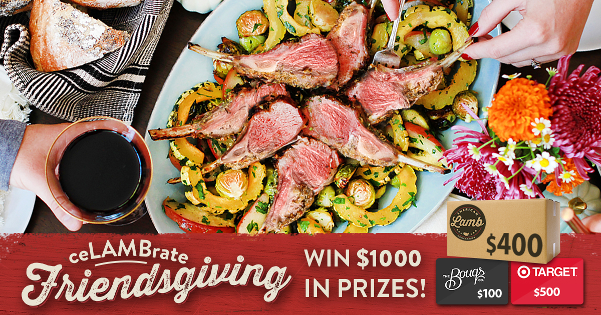 Celebrate lamb with $1,000 in prizes