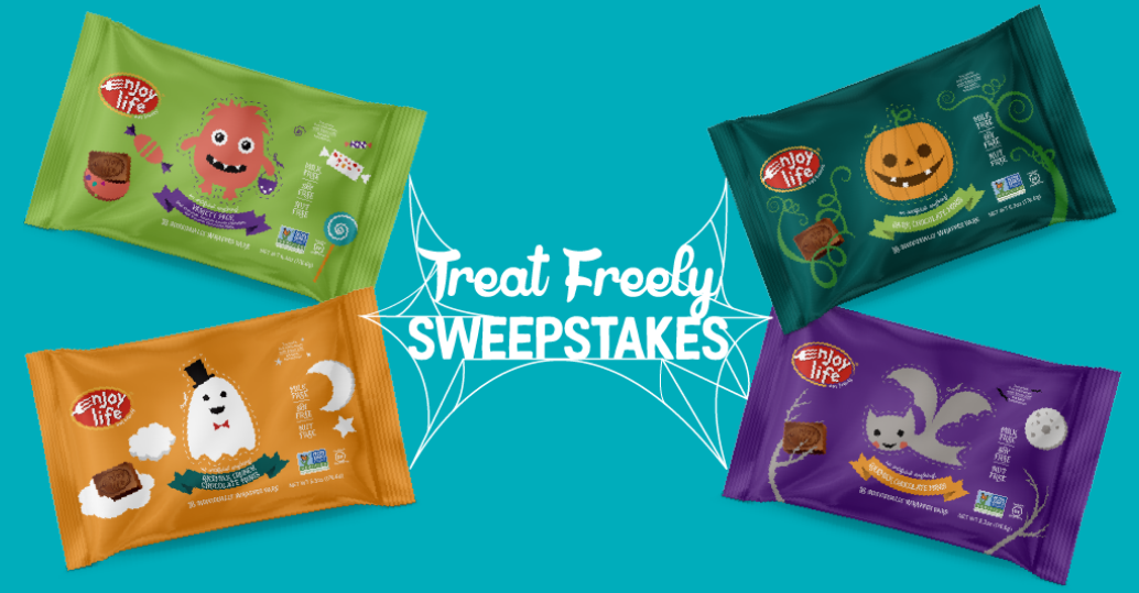 Enter for your chance to win 10 bags of Dark Chocolate Halloween Minis - five winners each day