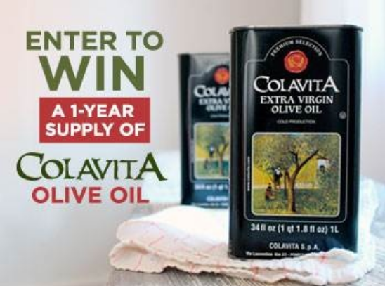 Low Entries! Win A Year's Supply Of Colavita Olive Oil from Fine Cooking Magazine