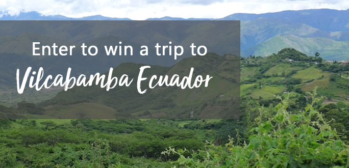 Enter for your chance to win an All-Expenses Paid Trip to The Raw Food Retreat Center In Vilcabamba, Ecuador! ($2500+)