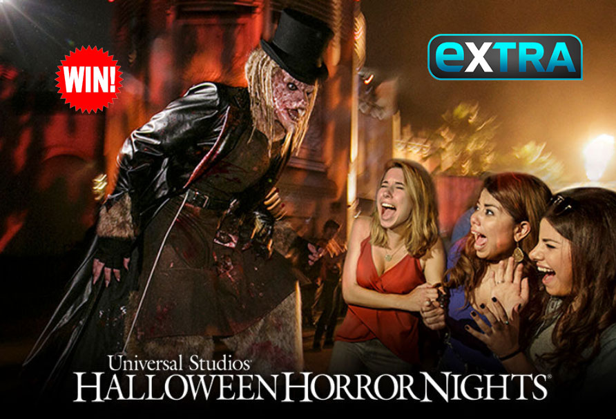 QUICK ENDING! EXTRA TV Halloween Horror Nights Giveaway