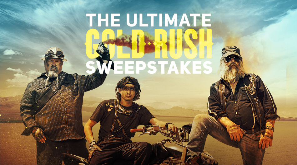 Enter the Discovery Channel's Ultimate Gold Rush $4,500 Cash Sweepstakes