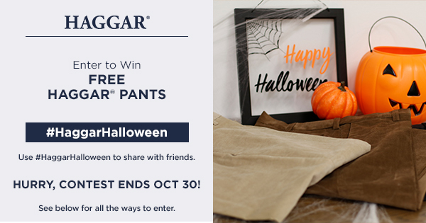 Haggar is giving away 2,500 FREE pair of pants. Enter now because this one ends quickly!