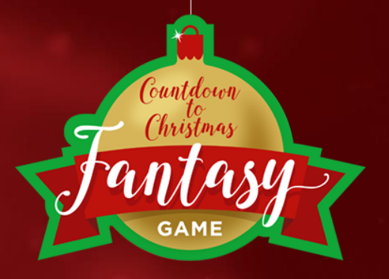 Hallmark Channel Countdown to Christmas Fantasy Game win $250, $1,000, $5,000 or even $20,000 in cash!