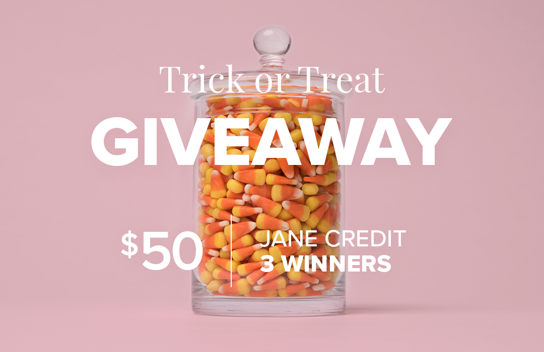 Jane.com giving away over $1,000 in Jane Credit to celebrate Halloween!