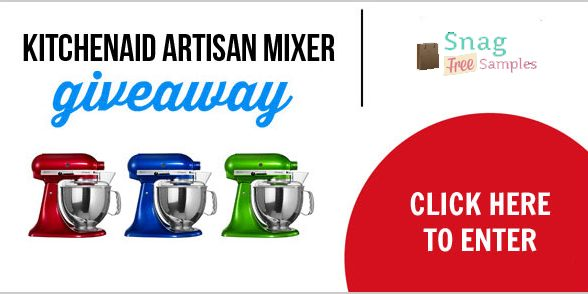 Enter to win a Red KitchenAid Pro Series 5-Quart Stand Mixer ($259)
