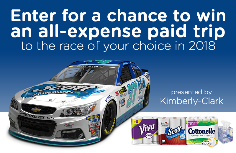 Enter for your chance to win a trip to aMonster Energy NASCAR Cup Series race of your choice