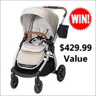Enter for your chance to win a Maxi Cosi Nomad Collection Car Seat or Stroller valued at up to $429.99