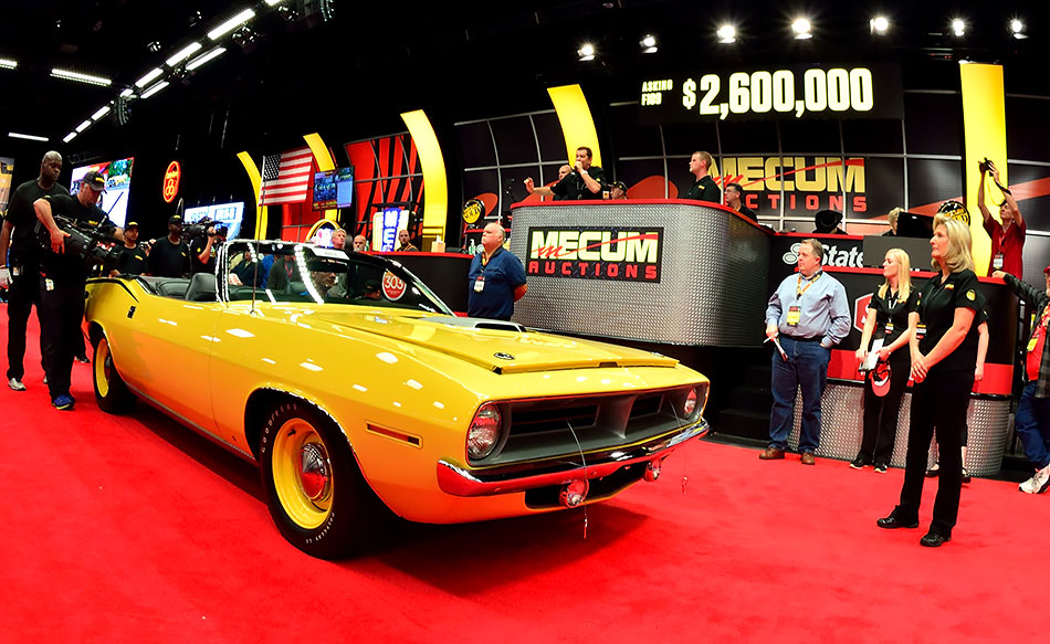Calendar Monthly March : Mecum collector car dream experience sweepstakes
