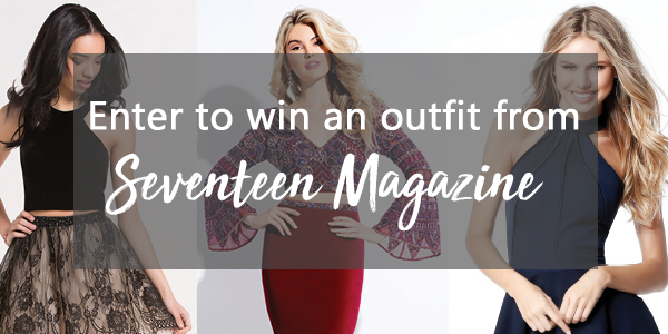 Enter for the chance to WIN an outfit from Alyce Paris, Rachel Allan or PromGirl.com